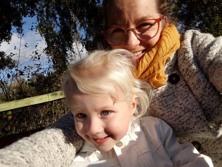 Selfie met Maren